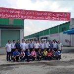 Lãnh đạo UBND quận Tân Bình đến tham quan nhà máy sợi TPP và công ty Mr. Vui